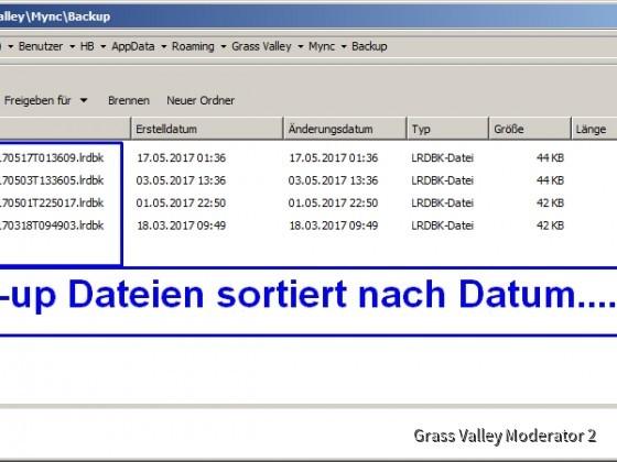 Mync folder + back-up files