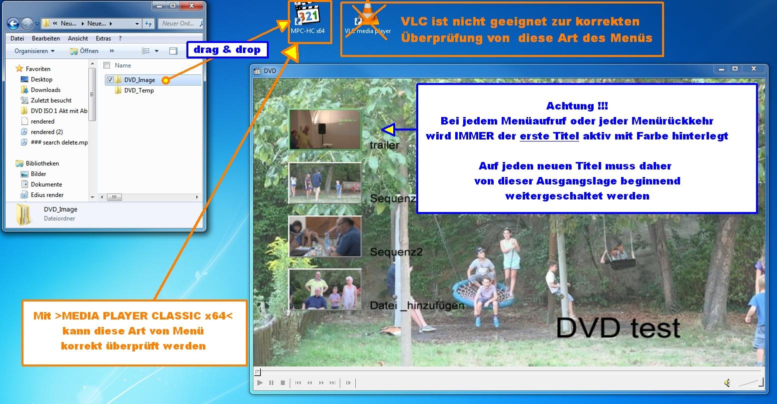 DVD Erstellung mit Menü