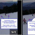 ghosting frame UHD smartphone