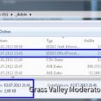 Ergebnis des Exportes  ist  eine .tpd Datei